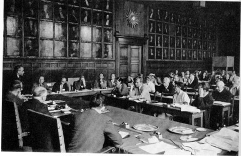 Afternoon Session, Utrecht I Conference, 1953