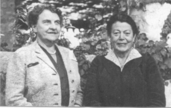 The Hon. Frances Payne Bolton and Mrs. Eileen J. Garrett