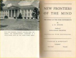 Title Page of New Frontiers of the Mind